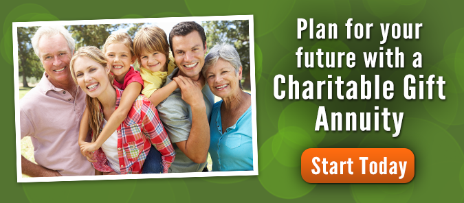 Begin your charitable gift annuity today with Bible League International.