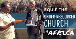 Equip the church in Africa