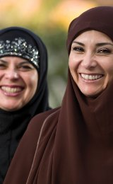 Middle East Christians share their faith with others, providing hope and peace