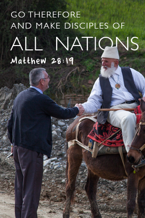 Scripture says 'Go therefore and make disciples of all nations.'