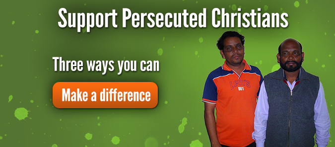 Support Persecuted Christians. Here are three ways you can make a difference.