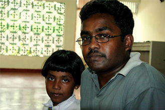 God's Word brings peace to Niranjan's chaotic life in Sri Lanka