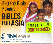 Bibles for Asia - Bible League